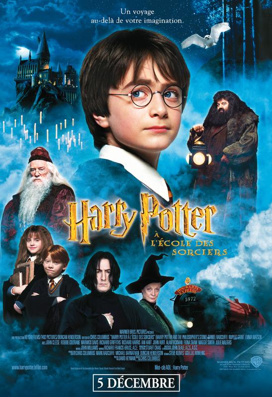 affiche film harry potter a l'école des sorciers