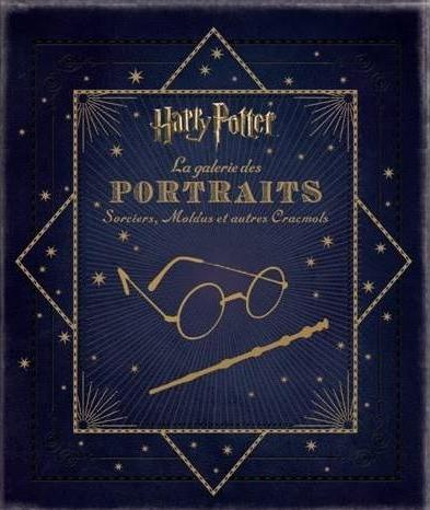 couverture harry potter la galerie des portraits jody revenson