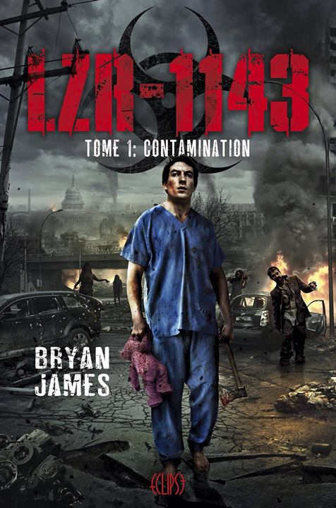couverture LZR-1143 Contamination de Bryan James