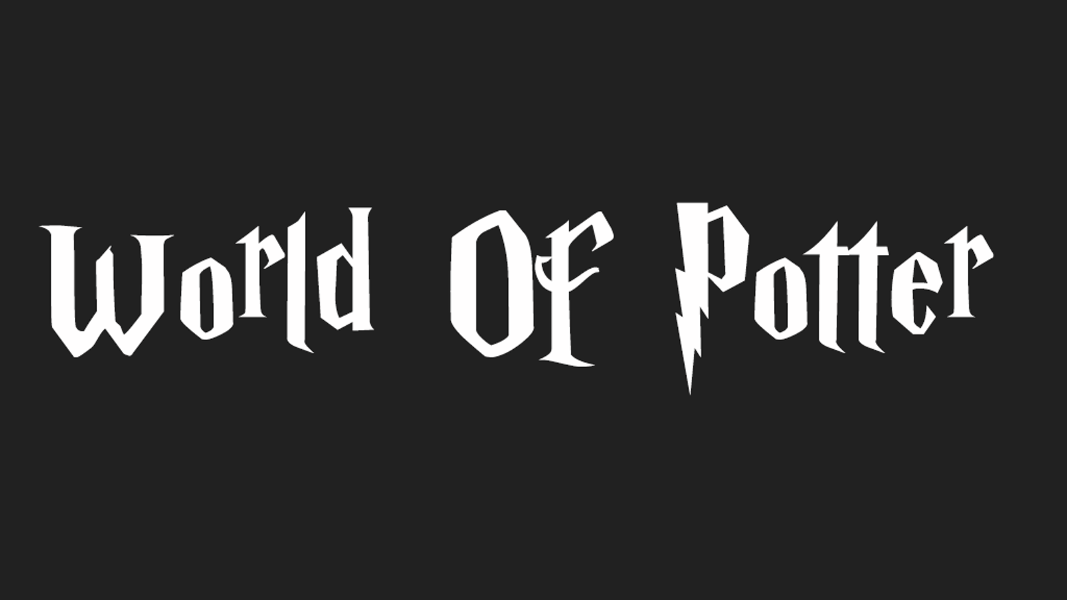 logo jeu world of potter