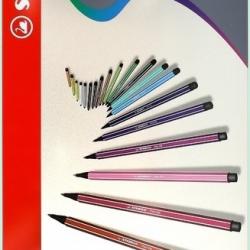 Stabilo Pen 68 - Boîte métal de 40 feutres
