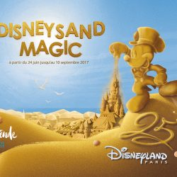 J'ai visité le Disney Sand Magic à Ostende