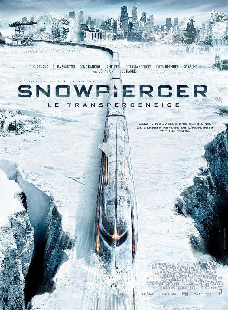 affiche film snowpiercer le transperceneige