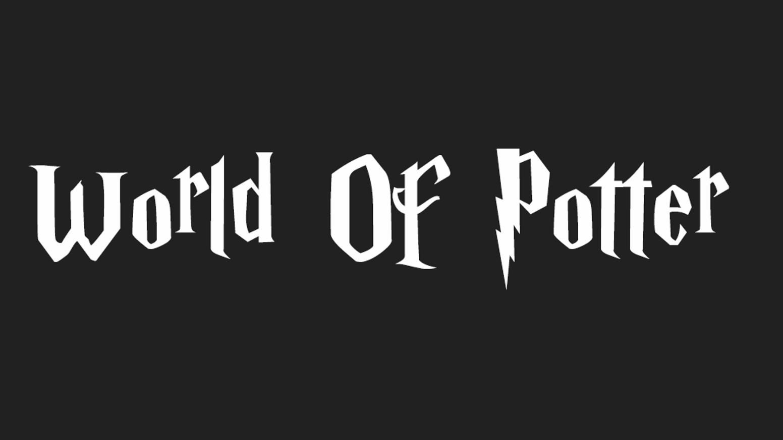 logo jeu world of potter